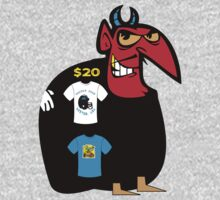devil tshirt by rogers bros by tron2010