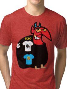 devil tshirt by rogers bros Tri-blend T-Shirt