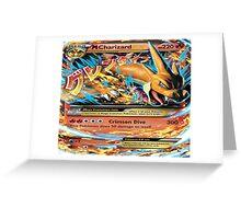 MegA Charizard Greeting Card