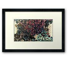 Rolling Caves - Abstract Fractal Framed Print