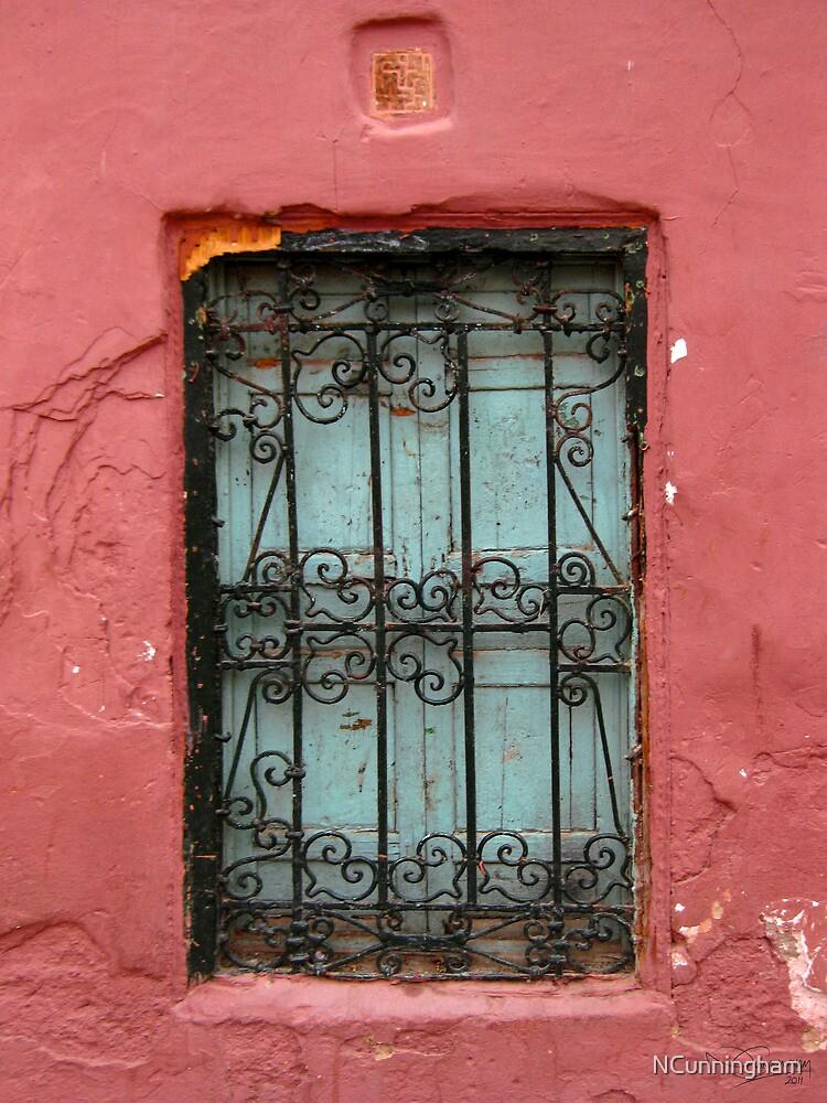Ornamental old window, Morocco by NCunningham