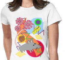 The Happy Mouse Tee Womens Fitted T-Shirt