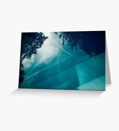 bluepool_c Greeting Card