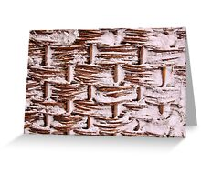 Willow Weave Greeting Card