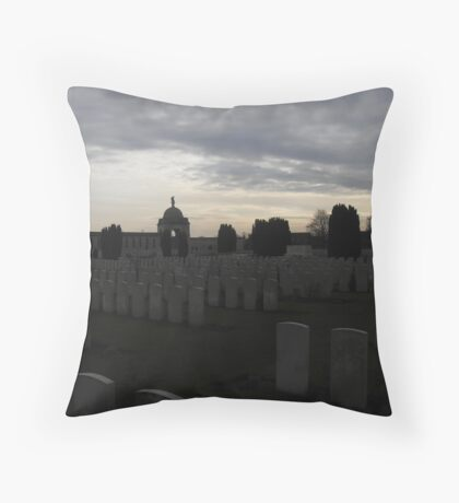 The sun may set, but we'll never forget. Throw Pillow