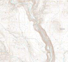 USGS Topo Map Oregon Becker Creek 20110831 TM Sticker