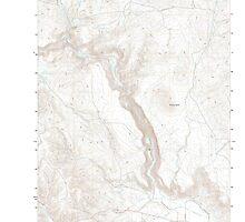 USGS Topo Map Oregon Becker Creek 20110831 TM by wetdryvac
