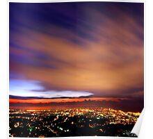 Lebanon Coastal Sky Poster