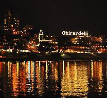 Ghirardelli Square Illumination by Bob Moore