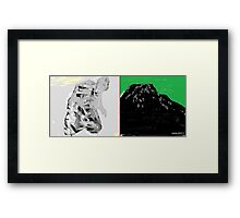 on bended knee to touch the sky - no deposit no return 1 Framed Print