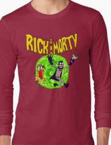 Rick and Morty BatDimension Long Sleeve T-Shirt