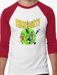 Rick and Morty BatDimension Men's Baseball ¾ T-Shirt
