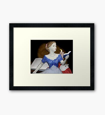 A Love Story ~ Royal Doulton Framed Print