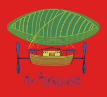 My Airship/Airhouse T-shirt, etc. design One Piece - Long Sleeve