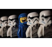 Benny The Trooper Photographic Print