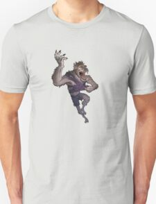 Werewolf Transformation Without Background T-Shirt