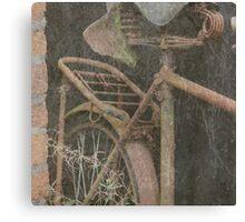 Abandoned Bike Canvas Print