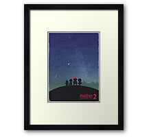 Minimalist Video Games: Mother 2  Framed Print
