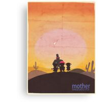 Minimalist Video Games: Mother  Canvas Print