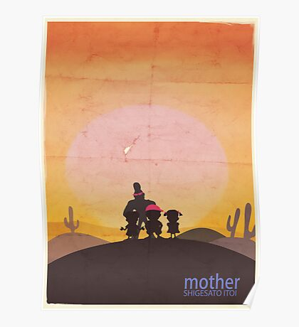 Minimalist Video Games: Mother  Poster