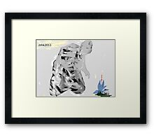 on bended knee to touch the sky - no deposit no return 5 Framed Print