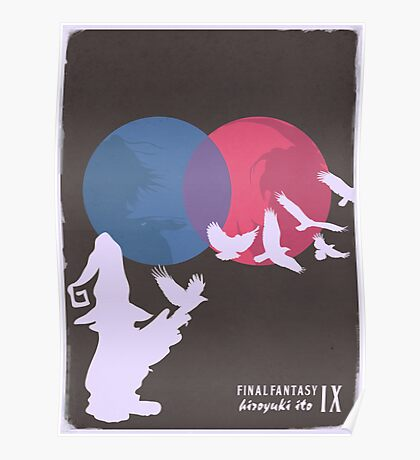 Minimalist Video Games: Final Fantasy IX Poster