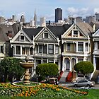 Alamo Square by Bob Moore