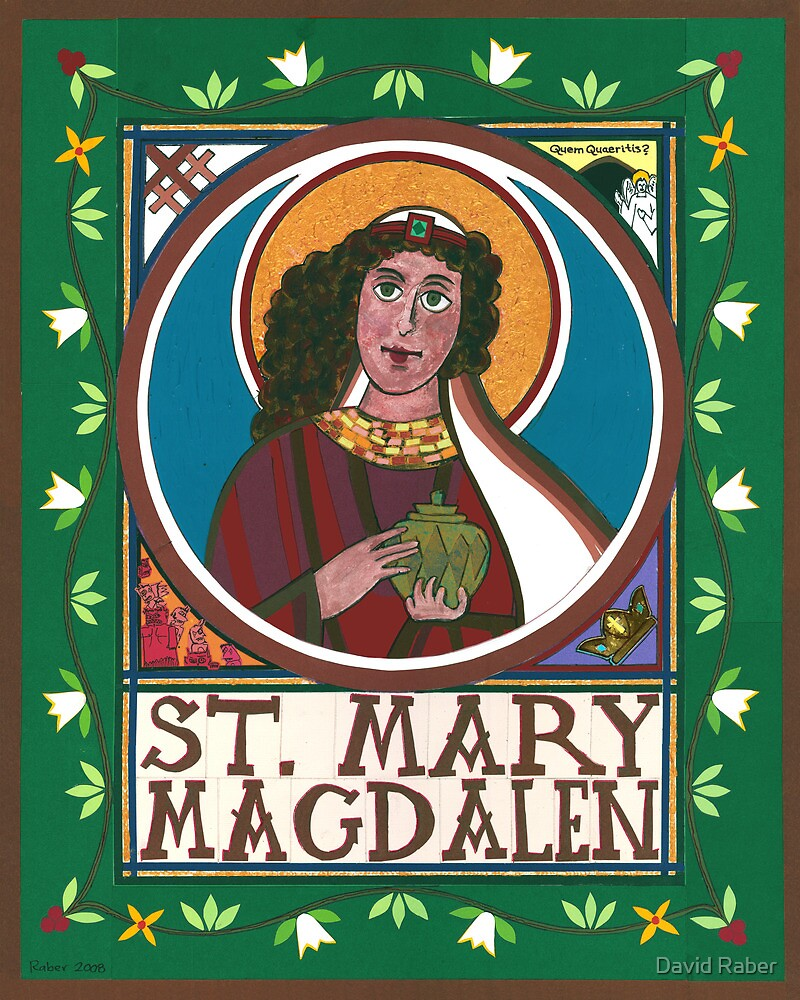 Icon of Mary Magdalen by David Raber