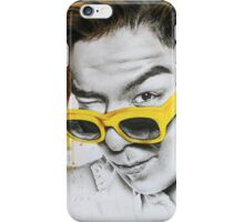 Yellow Shades iPhone Case/Skin
