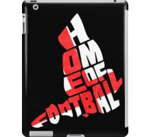 England Home of Football Typography Map iPad Case/Skin