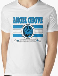 Angel Grove Athletics - Blue T-Shirt