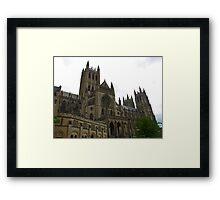 Washington National Cathedral Framed Print