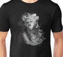 Marilyn Monroe (Black Background) Unisex T-Shirt