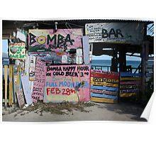 Bomba Shack, BVI Poster