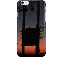Sunset pylon iPhone Case/Skin