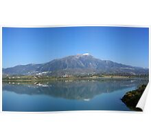 The Lake.  La Vinuela Poster