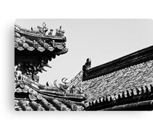 Imperial Roof Canvas Print