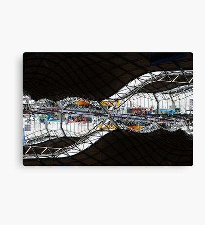 Southern Cross Railway Station Melbourne Canvas Print