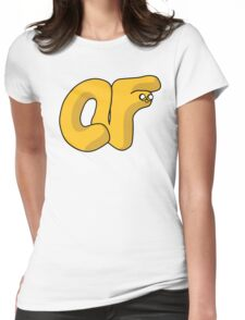 Jake the Doughnut Womens Fitted T-Shirt