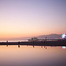 Santa Monica Sunset by AquaMarina