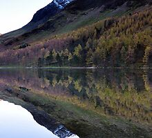 Reflections On Buttermere by Jacqueline Wilkinson