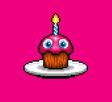 Five Nights at Freddy's 2 - Pixel art - Cupcake by GEEKsomniac