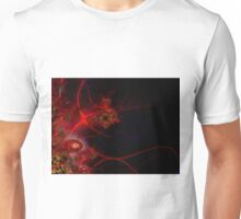 Swimming with Fishes Fractal Artwork Unisex T-Shirt