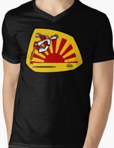 Enter the Arachnophobic Mens V-Neck T-Shirt
