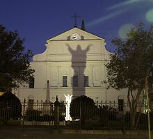 """Open Arms"" - St. Louis Cathedral in New Orleans by ArtThatSmiles"
