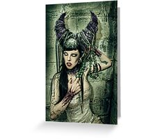 Teufel Greeting Card