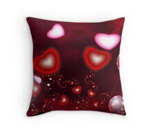 Valentines Day Expressions Throw Pillow
