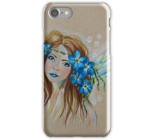 Forget Me Not, Little Faery iPhone Case/Skin