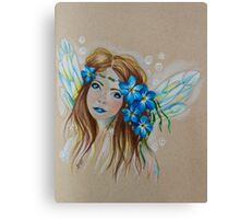Forget Me Not, Little Faery Canvas Print