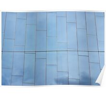 Abstract-blue Poster